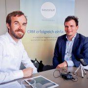 v.l.n.r Mag. Oliver Witvoet (easyconsult) und Dr. iur. Sebastian Reimer (Datenschutzrechts-Experte)